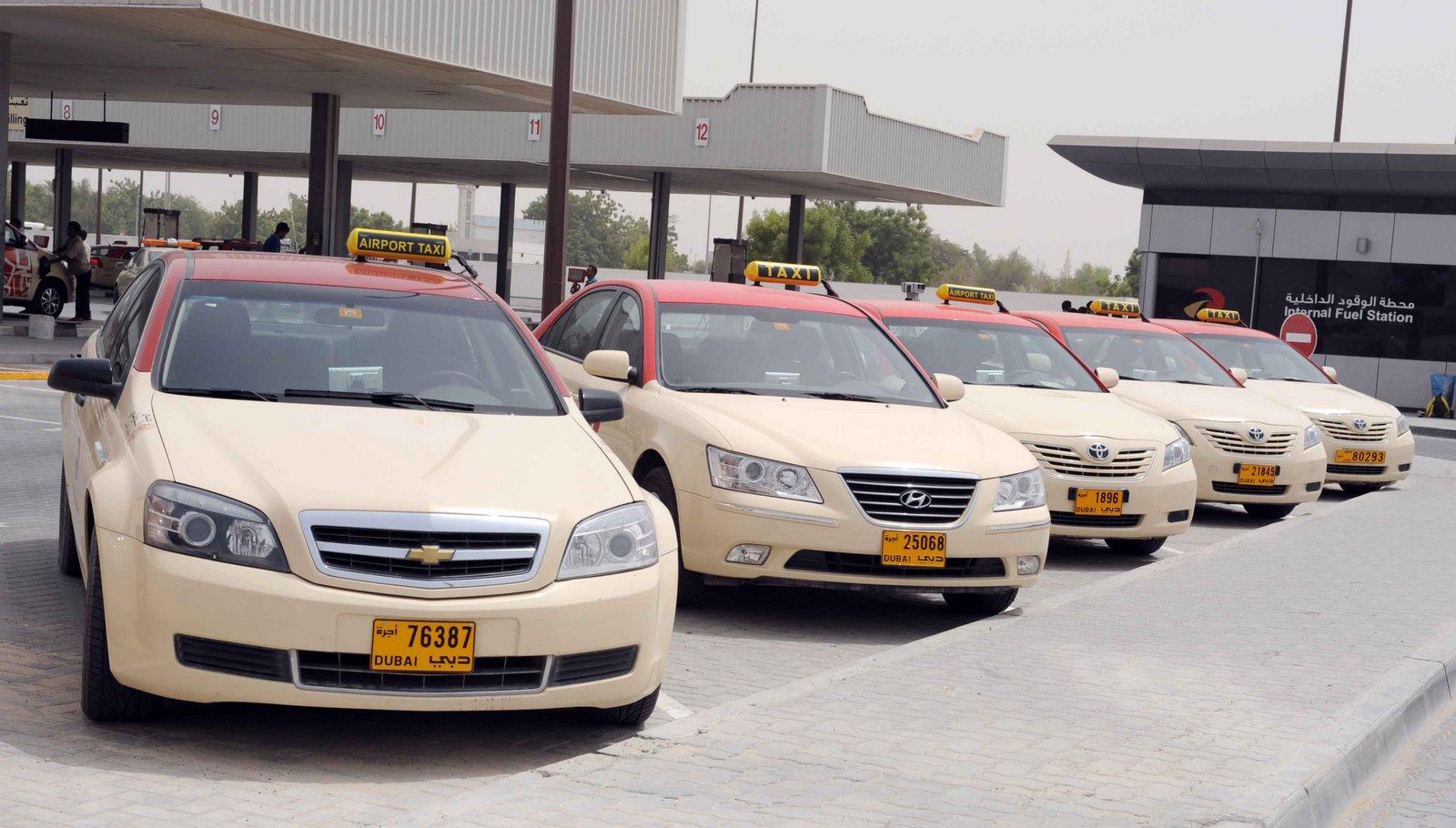 Taksi-v-Dubae